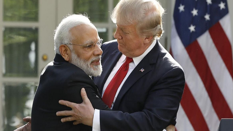 pm narandra modi and donald trump