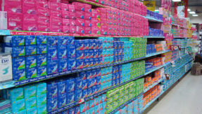 Sanitary pads exempted from GST