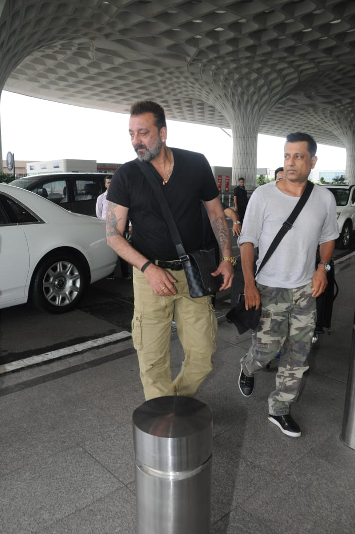 Sanju: Sanjay Dutt spotted with best friend Paresh Ghelani ...