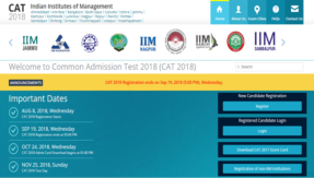 CAT 2018 online registration open @ iimcat.ac.in, see how to register and apply