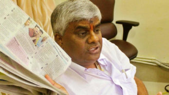 Latest News,Live News,H D Revanna,packets of biscuits,Hassan,h d kumaraswamy,biscuits flinged