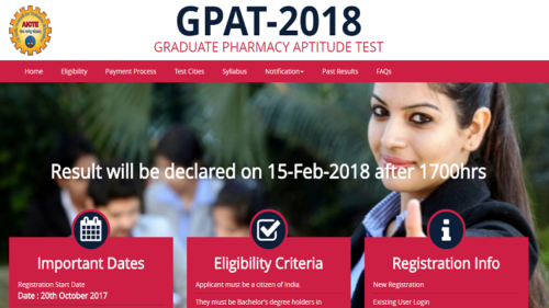 CMAT, GPAT 2019: Online registration process to start from November 1, check last date and eligibility criteria