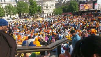 Britain, British High Commission, london, Ministry of external affairs, pro-khalistan, Sikhs For Justice, Trafalgar Square