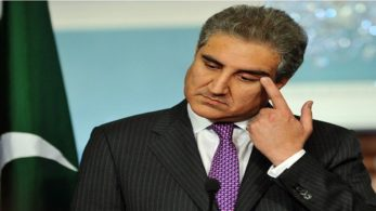 Qureshi was appointed as Pakistan's Foreign Minister on Saturday