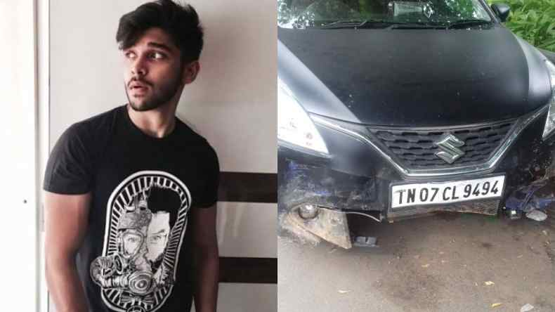 Tamil star Vikram's son Dhruv rams car into 3 auto rickshaws in Chennai, injures 4