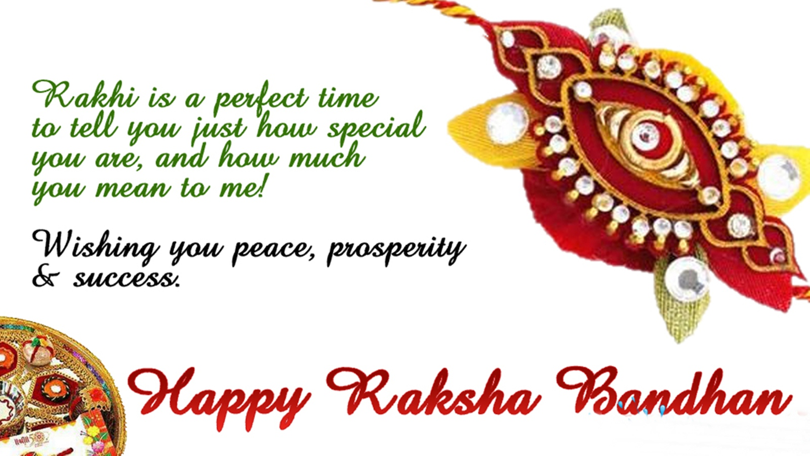 Happy Raksha Bandhan wishes and messages in English for ...