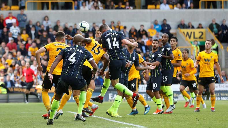 Premier League: Manchester City given reality check by Wolves in 1-1 draw