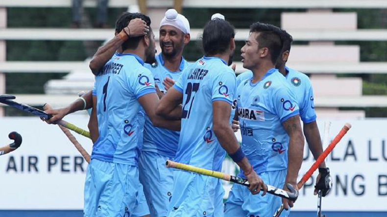 India 2-1 Pakistan men's hockey, India beat Pakistan men's hockey highlights, India beat Pakistan men's hockey at Asian Games, India vs Pakistan, Ind vs Pak men's hockey highlights, India vs Pakistan men's hockey highlights, India vs Pakistan hockey, Asian Games 2018, Asian Games highlights.