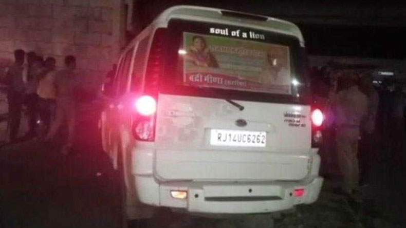 BJP leaders son, SUV runs over labourers, Jaipur, BJP's Kissan Morcha, Chief Minister Vasundhara Raje, National news
