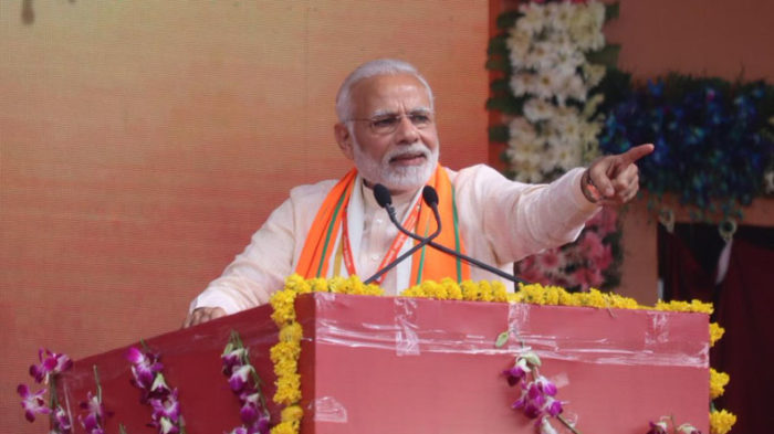 PM Modi ridicules Congress for blaming EVMs for each and every poll defeat