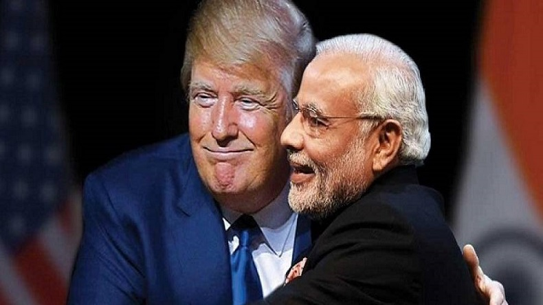 Donald Trump says PM Modi is his friend and he likes him very much