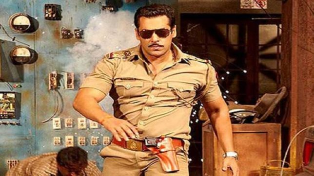 Salmn khan shares post on completion of years of Dabangg