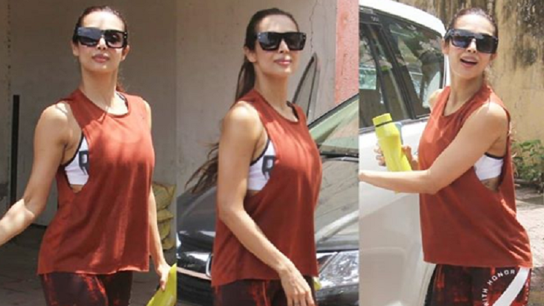 Malaika Arora's gym ready photos will make you skip your heartbeat
