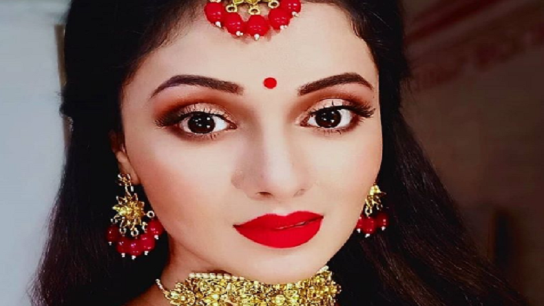 Bhojpuri actor Mani Bhattacharya looks stunning in this bridal look, view photo