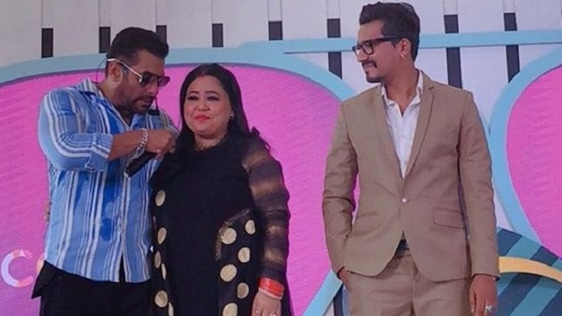 Salman Khan introduces Bharti Singh-Haarsh Limbachiyaa as first jodi