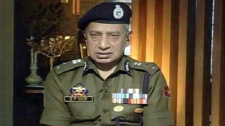 SP Vaid,Jammu and Kashmir, Police, DGP Prison Dilbagh Singh, Jammu and Kashmir Police