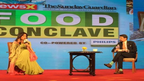 NewsX organises its first food conclave, Chitrangda Singh, royal chefs grace the occasion