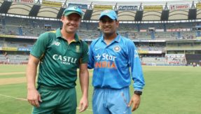AB de Villiers says even if Dhoni turns 80, in a wheelchair, he will still be part of his team