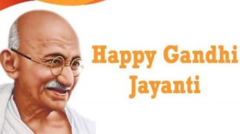 Happy Gandhi Jayanti 2018 wishes and messages in English