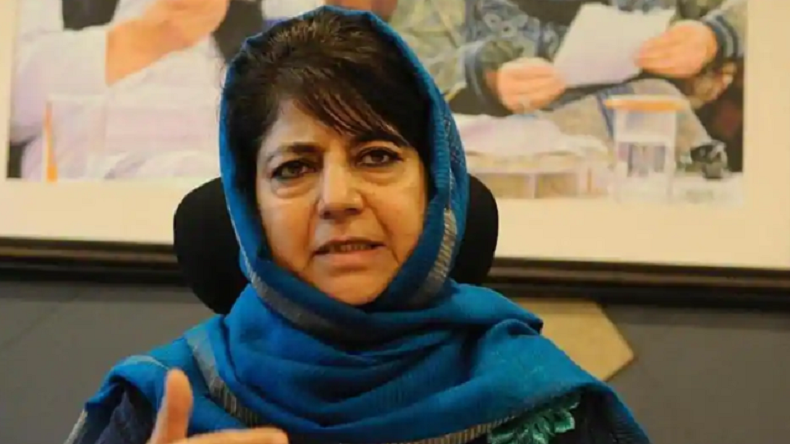 Mehbooba Mufti slams BJP for fielding Sadhvi Pragya from Bhopal