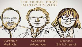 2018 Nobel Prize in Physics: Arthur Ashkin, Gerard Mourou and Donna Strickland win for laser inventions