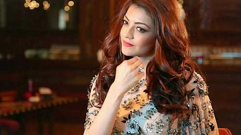 Kajal Aggarwal looks excited for Vijay Dashmi in her latest photo, view pic