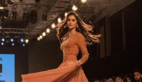 Bombay Times Fashion Week: Krystle D' Souza looks drop-dead gorgeous in embellished gown