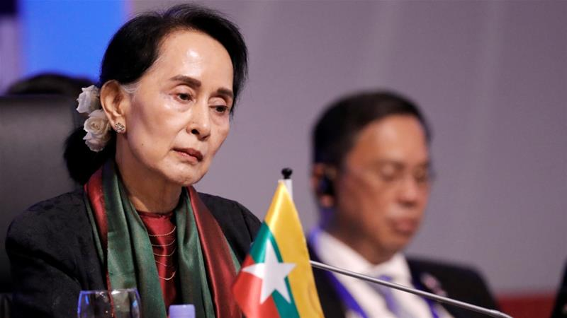 Mynamar leader Aung San Suu Kyi  stripped of Amnesty International top honour over indifference to atrocities against Rohingya