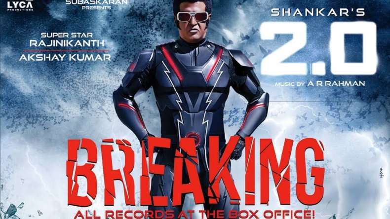 rajinikanth, 2.0, akshay kumar, rajinikanth 2.0, akshay kumar 2.0, box office collection day 2