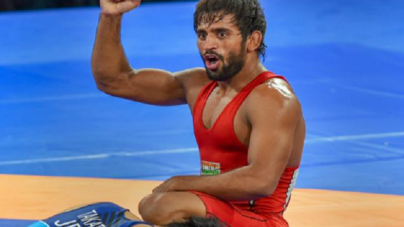 Bajrang Punia, world wrestling record, wrestling, 65 Kg category, men's freestyle wrestling