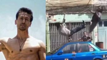 Baaghi actor's flying kick leaves him with a busted back, watch video