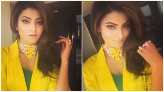 Urvashi Rautela Instagram photos: Hate Story 4 looks drop-dead gorgeous in recent photoshoot, see photo