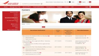 Air India Express Limited Recruitment 2018, AIEL Jobs 2018, Government Jobs, Manager Jobs, Senior Officer Jobs, Air India Express Limited Jobs, Air India Jobs 2018