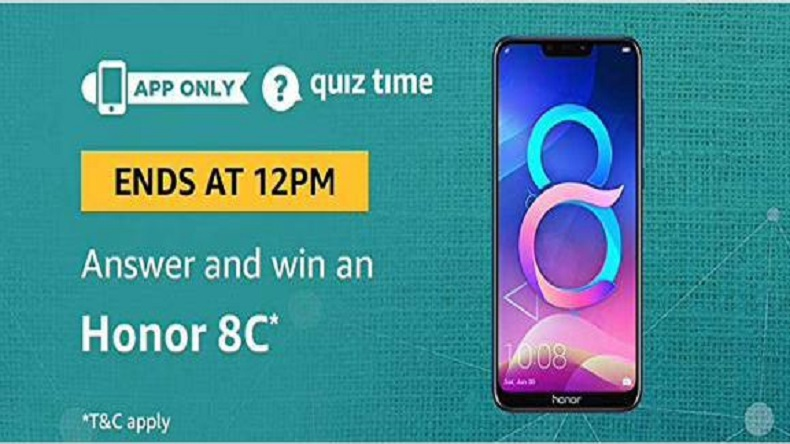 Amazon Quiz today, December 26, 2018: Here are the 5 questions with