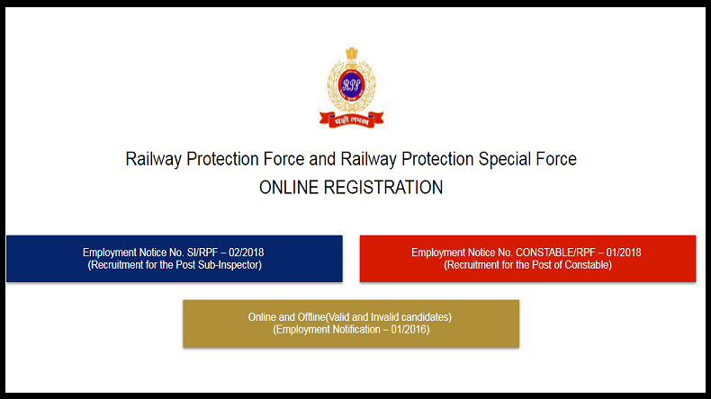 railway protection force admit card download