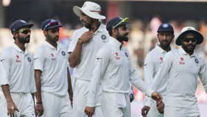 The Test series begins with India feeling confident of their chances to win amidst the questions surrounding the Australian team who have been embattled by suspensions to Steve Smith and David Warner and the less than satisfactory performances of the experienced players.