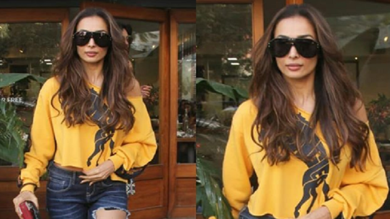 Malaika Arora looks super sexy in ripped jeans, see photo