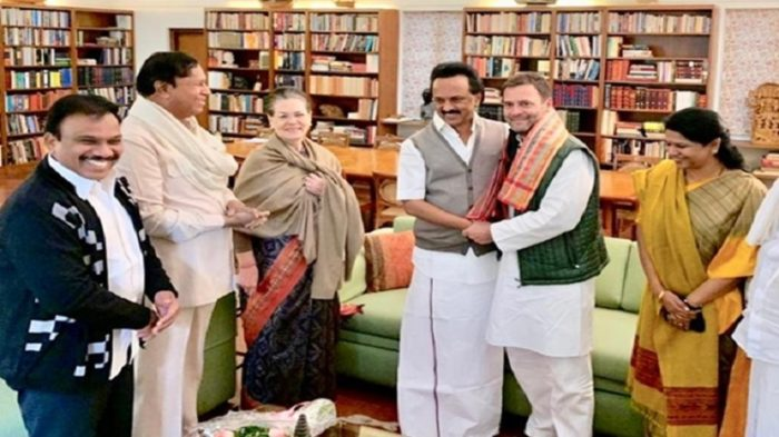 DMK president MK Stalin backs Rahul Gandhi as PM candidate in next elections, says Congress president capable of defeating fascist Modi govt