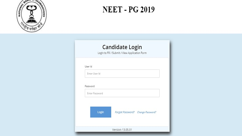 NEET 2019 PG admit card: Hall tickets released, download at nbe.edu.in