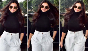 Deepika Padukone's latest airport look is something not to be missed, check it out