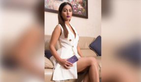 Hina Khan sexy videos: Komolika of Kasauti steals the show in a white dress, watch video