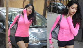 Janhvi Kapoor looks stunning in a pink top, see pic