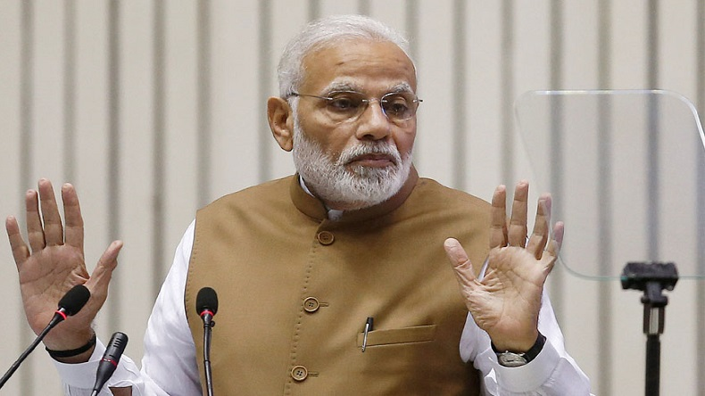 New CBI chief selection: PM Modi-led selection committee to decide on new CBI Director on January 24a Modi gestures as he addresses the gathering during the 'Global Mobility Summit' in New Delhi