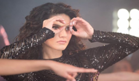 Sunny Leone sizzles in a shimmery black dress, see pic