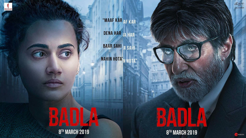 Badla box office collection day 6, Badla box office collection, Badla collection, Badla day 6, Amitabh Bachchan, Taapsee Pannu