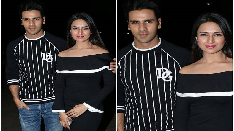 Divyanka Tripathi, Vivek Dahiya give couple goals at Ekta Kapoor's baby naming ceremony