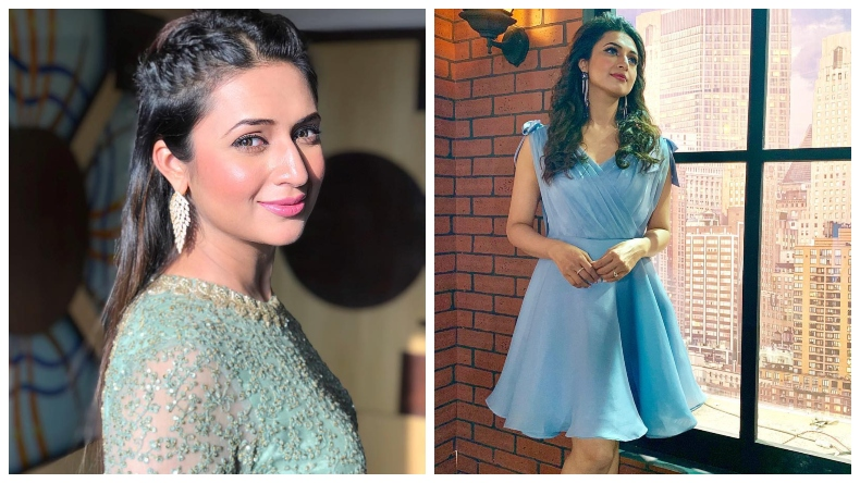Divyanka Tripathi Dahiya hot photo: Yeh Mohabbatein actor dazzles in a blue dress, see pic