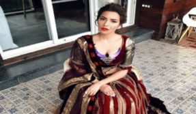 Shama Sikander photos: Maaya actor looks like a queen in this ethnic avatar!