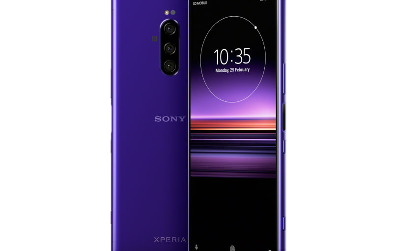 Sony Xperia 1 with triple rear camera setup launched at MWC 2019