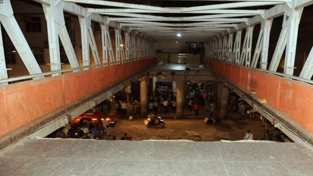 Mumbai bridge collapses LIVE updates: 2 dead, several feared injured as foot overbridge collapses outside CST railway station